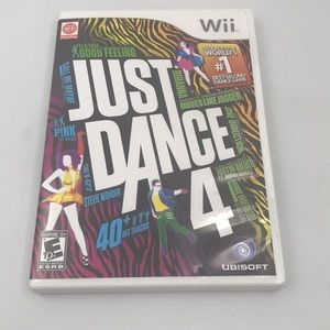 Nintendo Wii: Just Dance 4 CASE ONLY
